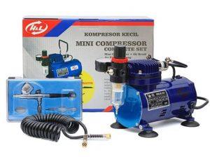 H&L Air Brush Mini Compressor Set